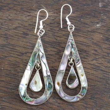 Celestina Abalone Shell Earrings