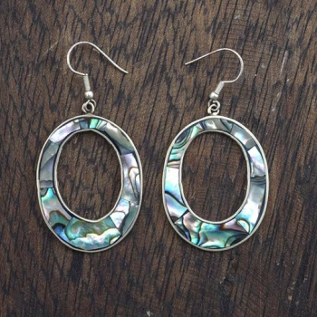 Diane Abalone Shell Earrings