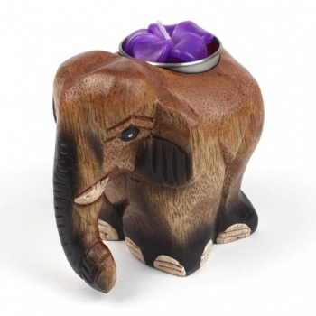 Elephant T-Light Holder