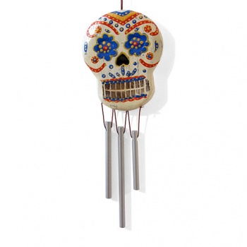 Small Candy Skull Chime