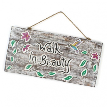 Walk In Beauty Plaque