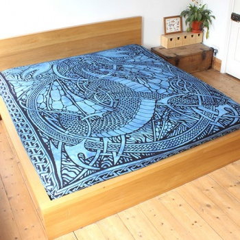 Fire Dragon Bedspread
