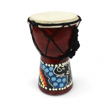 15cm Painted Djembe Drum