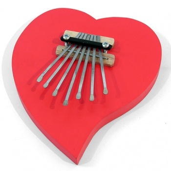 Heart Thumb Piano