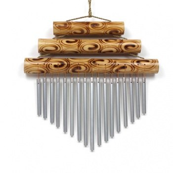 Large Triple Bamboo Chime