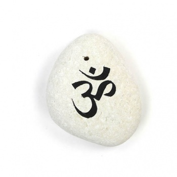 Om Stone Incense Holder