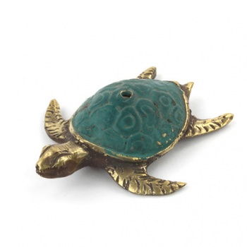 Bronze Turtle Incense Holder