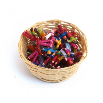 Basket of Worry Dolls