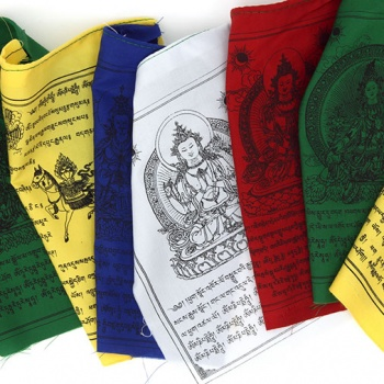Mixed Gods Prayer Flags