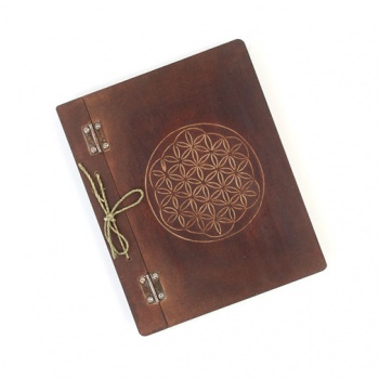Blank Flower of Life Book