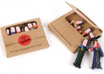 Worry Dolls Tiny in Flat Box