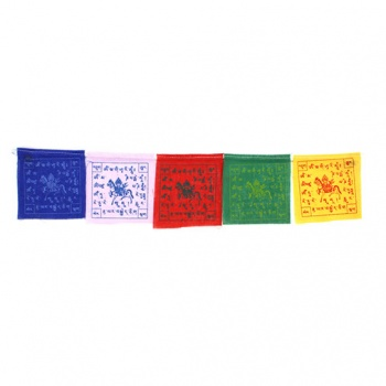 Mini Prayer Flags on Magnets
