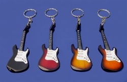 Electric Guitar Keyring