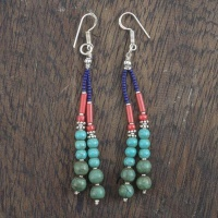 String of Beads Earrings