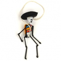 Hanging Mexican Skeleton