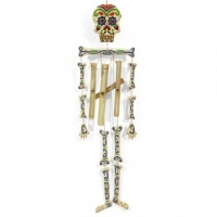 Candy Skeleton Windchime