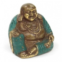 Bronze Laughing Buddha