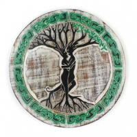 Tree Couple Plaque