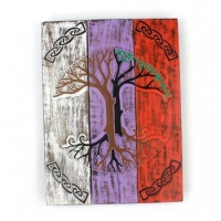 Celtic Tree Panelled Plaque