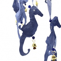 Sea Horse Saa Paper Mobile