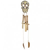 Candy Skull Windchime