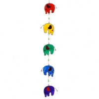 String of Elephants Suncatcher