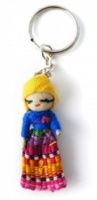 Worry Doll key Ring