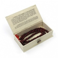 Boxed Wooden Mallah Beads