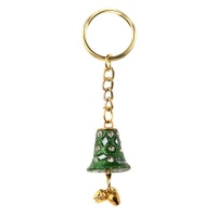 Keyring bell with bells