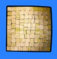 Mosaic Square Bowl 15cm - Gold