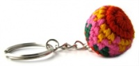 Small Crochet Ball Keying