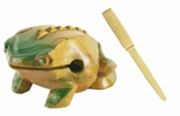Frog and Stick Percussion